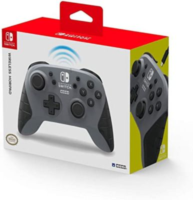 Nintendo Switch Controller Horipad Wireless Grey