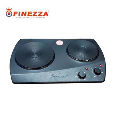 Cocina Eléctrica 2 de Hornillas Negro FZ-203D3N