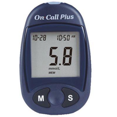 Glucómetro Plus + 10 Tiras + 10 Lancetas