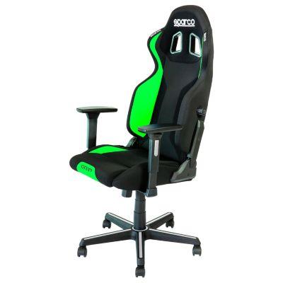Silla Sparco Gaming Grip Negro y Verde 2019