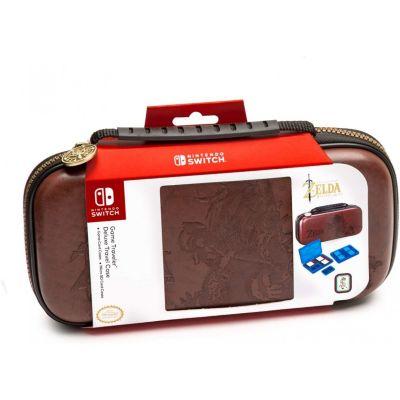Estuche Game Traveler Deluxe Nintendo Switch Zelda Marrón