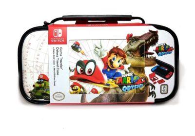 Estuche Game Traveler Deluxe Nintendo Switch Odyssey Blanco