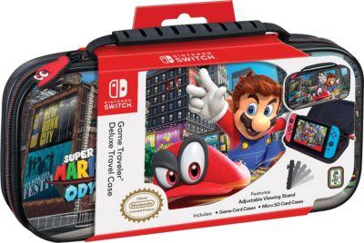Estuche Game Traveler Deluxe Nintendo Switch Mario Odyssey