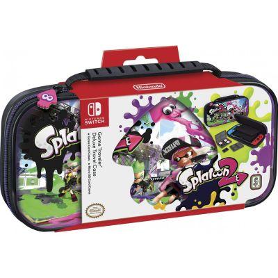 Estuche Game Traveler Deluxe Nintendo Switch Splatoon 2
