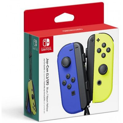 Controles Nintendo Switch Joy-Con Azul y Amarillo