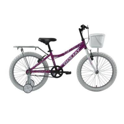 Bicicleta Urbana Paracas Aro 20 Morado
