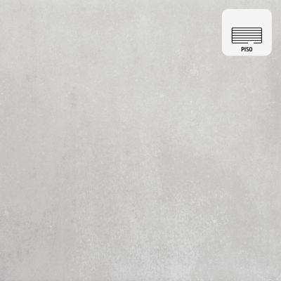Porcelanato Concreto Gris Liso 60x60 cm para Piso