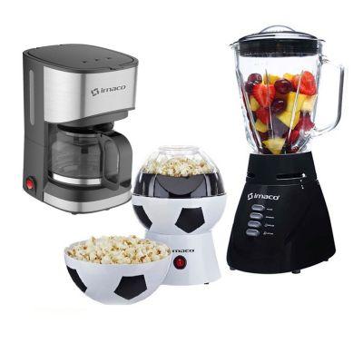 Licuadora 1.5L BL4125VN + Maquina Pop Corn + Cafetera