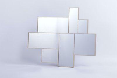 Espejo Tetris dorado 75x90cm