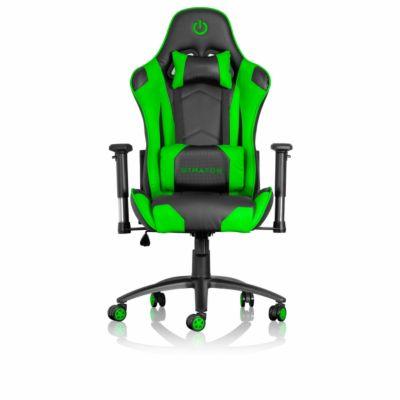 Silla Gamer 2D Stratos Verde GC1000
