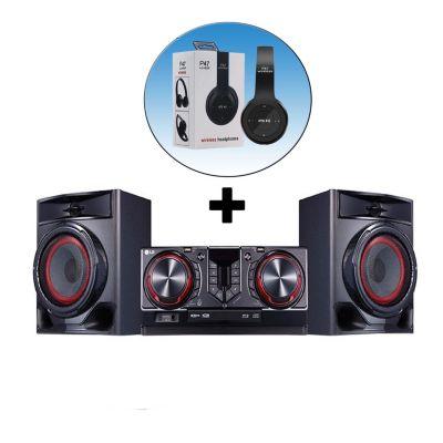 Minicomponente Bluetooth Karaoke 480W CJ44