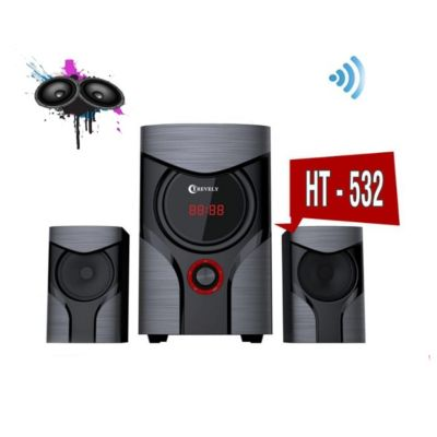 Parlante Multimedia 2.1 Negro HT-532