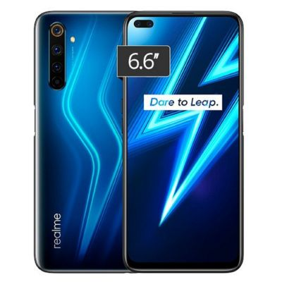 "Real Me 6 Pro 6.6"" 128GB 8GB 64MP 16MP Lightning Blue"