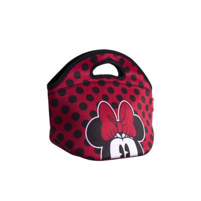 Lonchera Neopreno Minnie Mouse Rojo