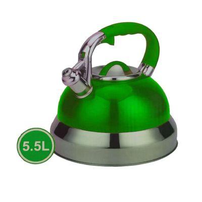 Tetera de Acero 5.5L Verde