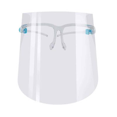 Protector facial con lentes