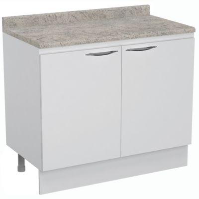 Mueble base 2 puertas Clean 100 cm