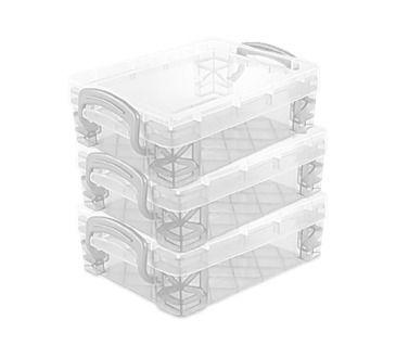 Pack x3 Stacker Mini Transparente