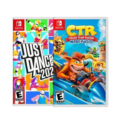 Videojuegos Nintendo Switch Just Dance 2021 + Crash Team Racing