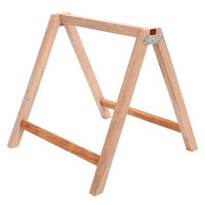 Caballete de madera plegable