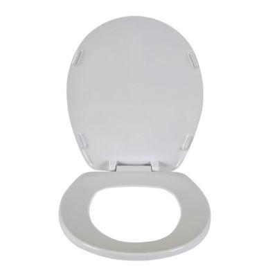 Asiento redondo Sifón blanco