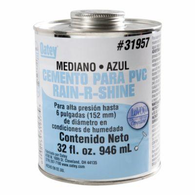 Cemento PVC 32 oz Azul