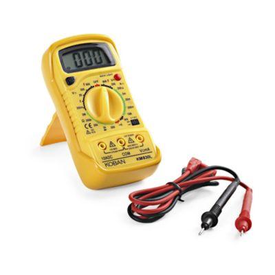 Mutimetro Digital a Prueba de Transistores de 600VAC