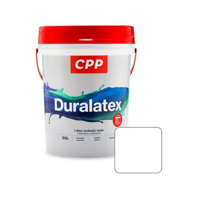 Látex Duralatex Blanco Mate 20 L