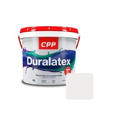 Látex Duralatex Blanco Humo Mate 4 L
