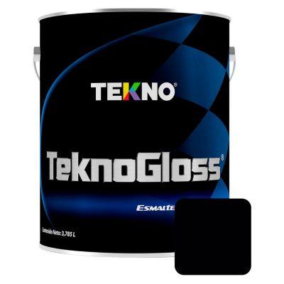 Esmalte automotriz Tecnoglos negro 1 gl