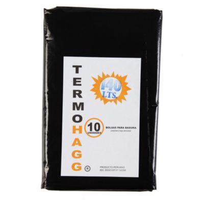 Bolsa para basura 140 L pack x 10