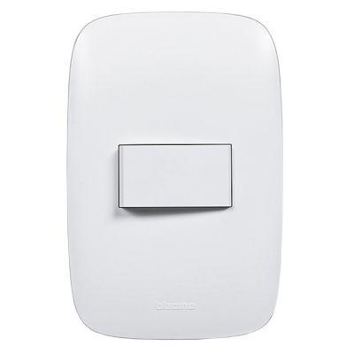 Conmutador Simple Domino Sencia Blanco