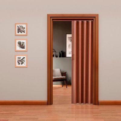 Puerta Plegable Tivoli PVC 90 x 200 Caoba