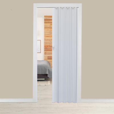 Puerta Plegable Milano PVC 90 x 200 Blanca