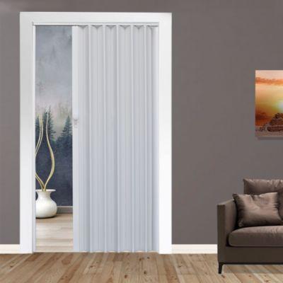 Puerta Plegable Milano PVC 120 x 200 Blanca