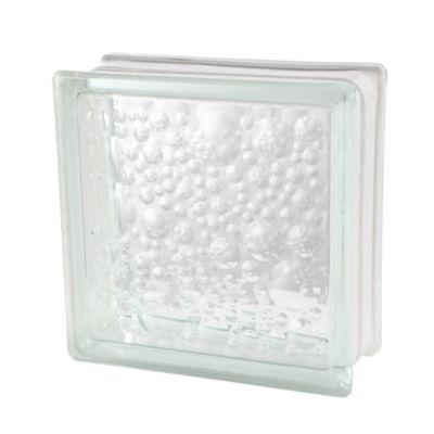 Block de Vidrio Burbuja 19 x 19 cm