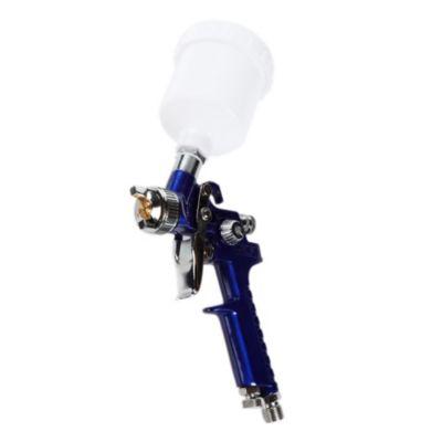 Pistola mini sistema hvlp lupo azul