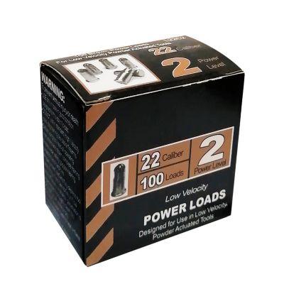 Fulminante calibre 22 100 pzas marrón