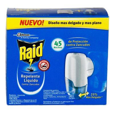Repelente líquido contra zancudos 32.9 ml