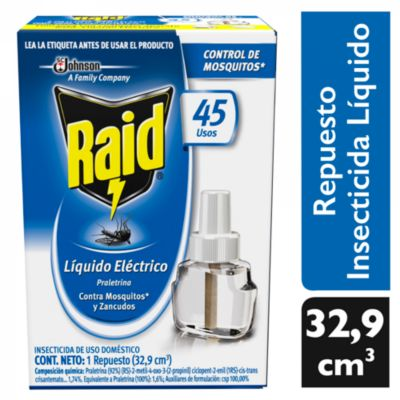 Repuesto líquido contra zancudos 32.9 ml