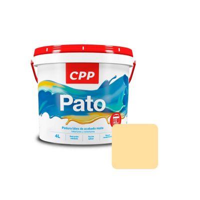 Látex Pato Crema Mate 4 L