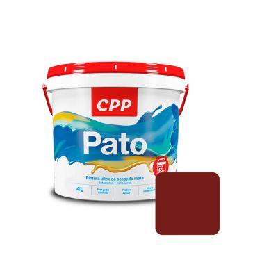 Látex Pato Rojo Mate 4 L
