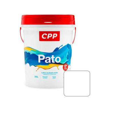 Látex Pato Blanco Mate 20 L