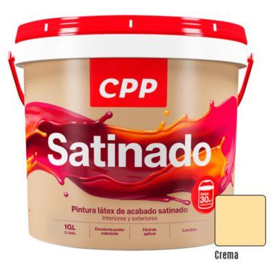 Latex Satinado Crema 4 L