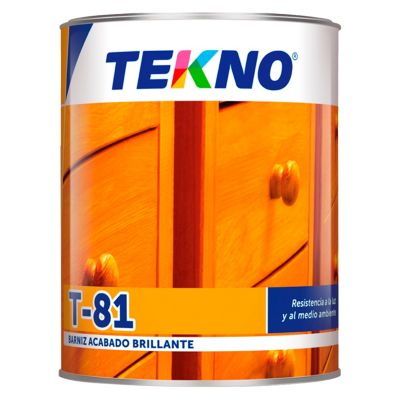 Barniz T-81 Transparente 1/4 gl