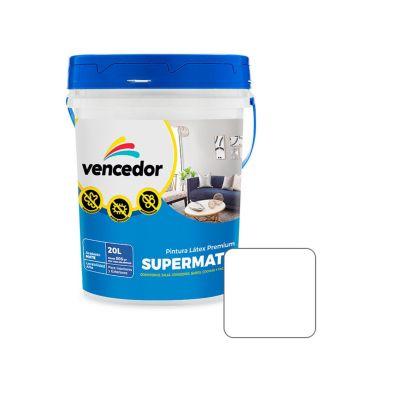 Látex Supermate Blanco Mate 20 L