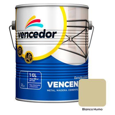 Esmalte sintético Vencenamel blanco humo 1 gl
