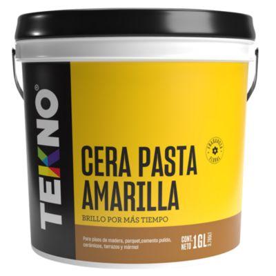 Cera pasta amarilla 3.785 L