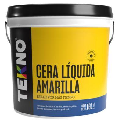 Cera liquida amarillo 4 lt