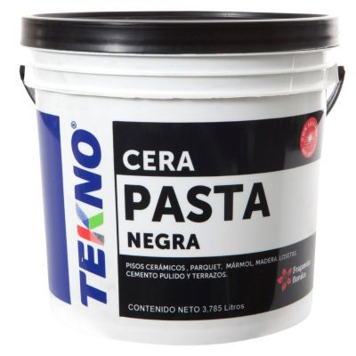 Cera pasta negra 4 L
